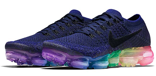 """NIKE AIR VAPORMAX FLYKNIT MIKELAB """"BE TRUE."""" [DEEPROYAL BLUE/CONCORD-WHT-PINK] 883275-400"""