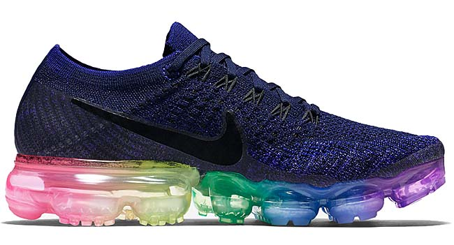 "NIKE AIR VAPORMAX FLYKNIT MIKELAB ""BE TRUE."" [DEEPROYAL BLUE/CONCORD-WHT-PINK] 883275-400"