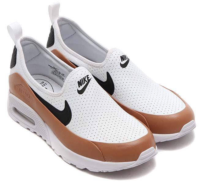 NIKE AIR MAX 90 ULTRA 2.0 EASE [WHITE / BLACK-DUSTED CLAY] 896192-100