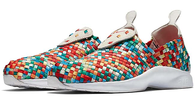"NIKE AIR WOVEN PREMIUM ""WONDER"" [LIGHT BONE / UNIVERSITY RED-TEAM ORANGE] 898028-001"