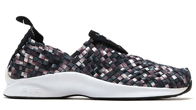 NIKE AIR WOVEN PRM [BLACK / WHITE-DARK GREY-WOLF GREY] 898028-002