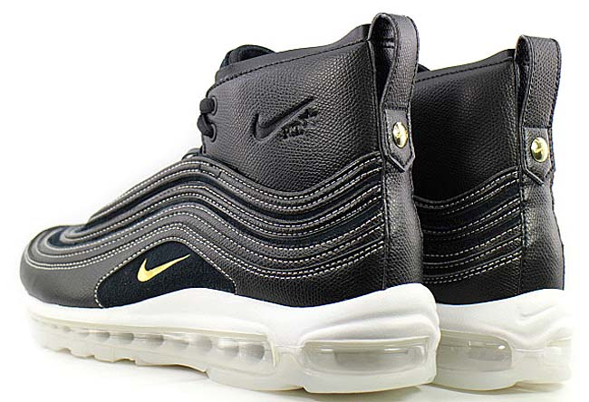"NIKELAB AIR MAX 97 MID RT ""RICCARDO TISCI"" [BLACK / METALLIC GOLD / ANTHRACITE / WHITE] 913314-001"