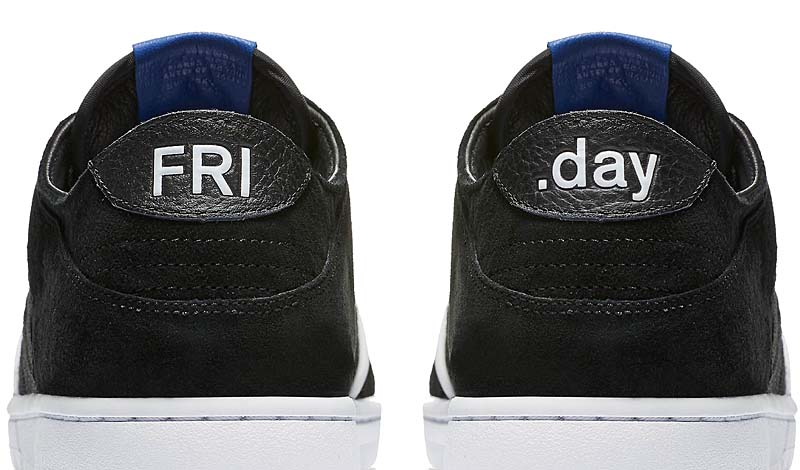 "NIKE SB ZOOM DUNK LOW PRO QS ""SOULLAND FRI.DAY 0.2"" [BLACK/GAME ROYAL-WHITE] 918288-041"