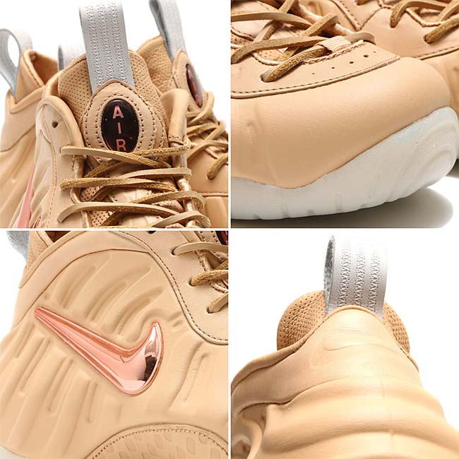 NIKE AIR FOAMPOSITE PRO PRM AS QS [VACHETTA TAN / ROSE GOLD-SAIL] 920377-200