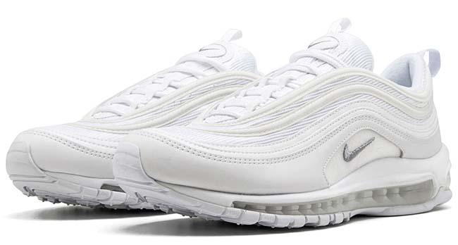 """NIKE AIR MAX 97 """"Triple White"""" [WHITE/WHITE/WHITE] 921826-101"""
