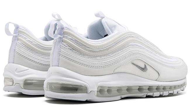 "NIKE AIR MAX 97 ""Triple White"" [WHITE/WHITE/WHITE] 921826-101"