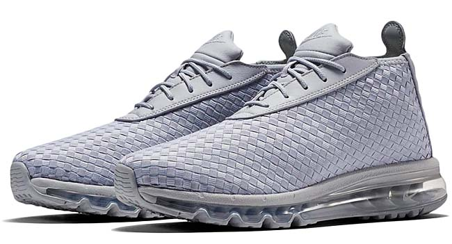 NIKE AIR MAX WOVEN BOOT [WOLF GREY / WOLF GREY-WHITE] 921854-001