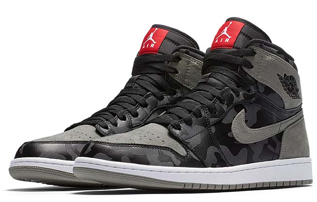 NIKE AIR JORDAN 1 RETRO HIGH PREM [BLACK / BLACK-DARK STUCCO-WHITE] AA3993-034