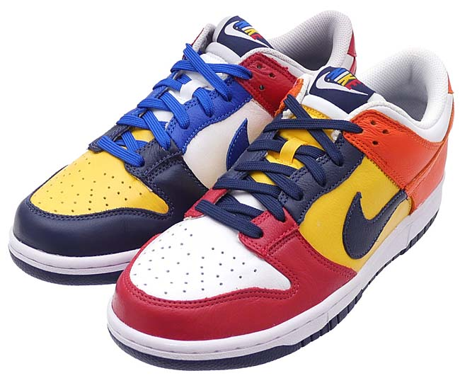 "NIKE DUNK LOW JP QS ""WHAT THE BE TRUE TO YOUR SCHOOL"" [MIDNIGHT NAVY / VARSITY MAIZE] AA4414-400"