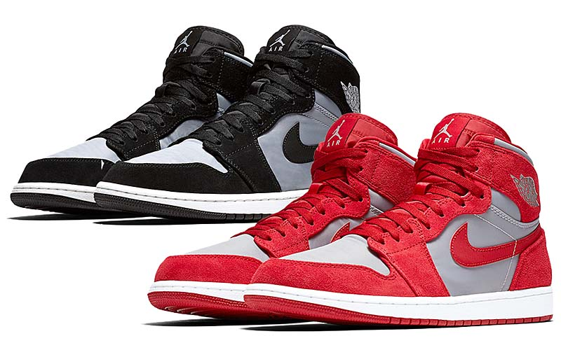 NIKE AIR JORDAN 1 RETRO HIGH PREM [GYM RED/WOLF GREY-SUMMIT WHITE] aa3993-601