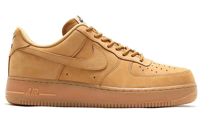 NIKE AIR FORCE 1 LOW 07 WB [FLAX / FLAX-GUM LIGHT BROWN-OUTDOOR GREEN] aa4061-200