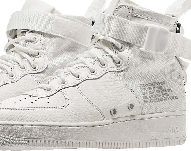 NIKE SPECIAL FIELD AIR FORCE 1 MID  [IVORY / IVORY-IVORY-REFLECT SILVER] aa6655-100