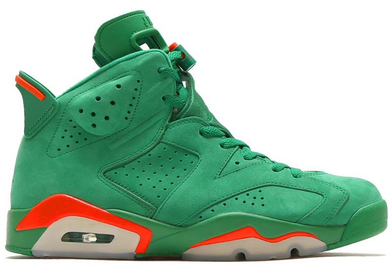 NIKE AIR JORDAN 6 RETRO NRG G8RD [PINE GREEN / PINE GREEN-ORANGE BLAZE] aj5986-335