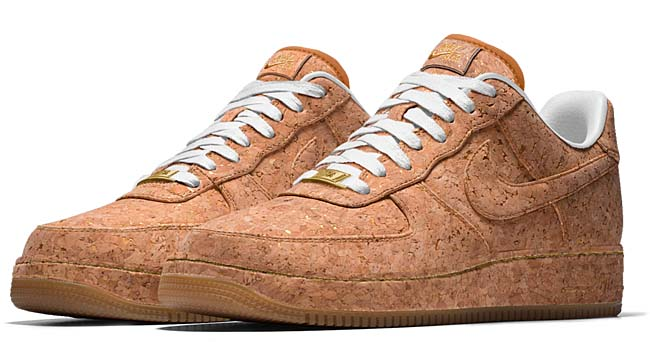 NIKE AIR FORCE 1 LOW NIKEid CORK COLLECTION nikeid_cork_AF1