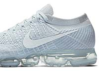 NIKE AIR VAPORMAX FLYKNIT [PURE PLATINIUM / WHITE-WOLF GREY] (849558-004)