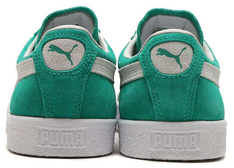 PUMA SUEDE 90681 [KELLY GREEN / PUMA WHITE] 365942-01