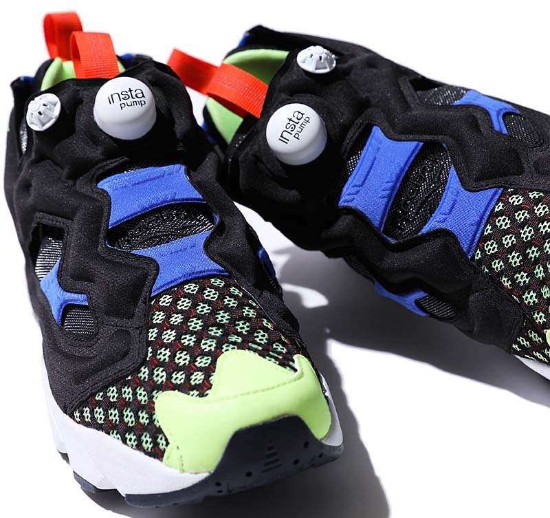 Reebok INSTAPUMP FURY OG SR [BLACK / WHITE / BLUE / ELECTRICL / NAVY] BS9703
