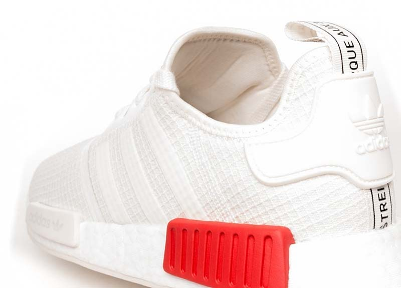 adidas NMD_R1 [OFF WHITE / OFF WHITE / RUSH RED] b37619 アディダス NMD_R1 「オフホワイト/レッド」