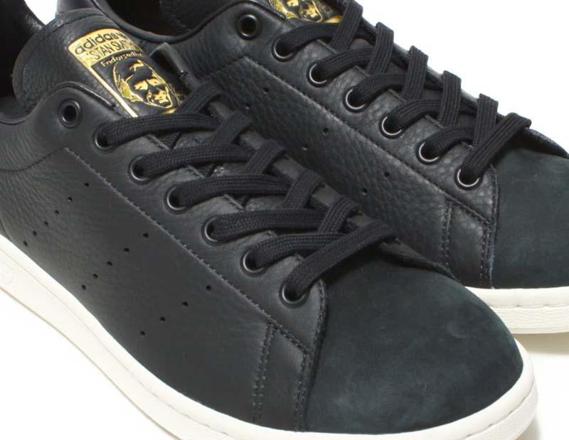 adidas Originals Stan Smith Premium [CORE BLACK / CORE BLACK / GOLD MET] b37901 アディダス オリジナルス スタンスミス プレミアム 「コアブラック/ゴールド」