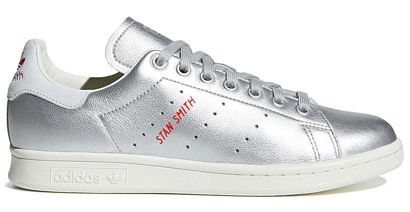 adidas Originals STAN SMITH [SILVER METT / BLUE TINT] b41750