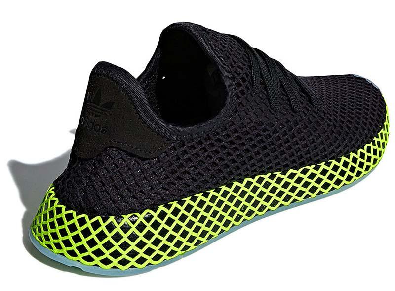 adidas Originals DEERUPT RUNNER [CORE BLACK / CORE BLACK / ASH BLUE] b41755 アディダス オリジナルス ディラプト ランナー 「ブラック/イエロー」