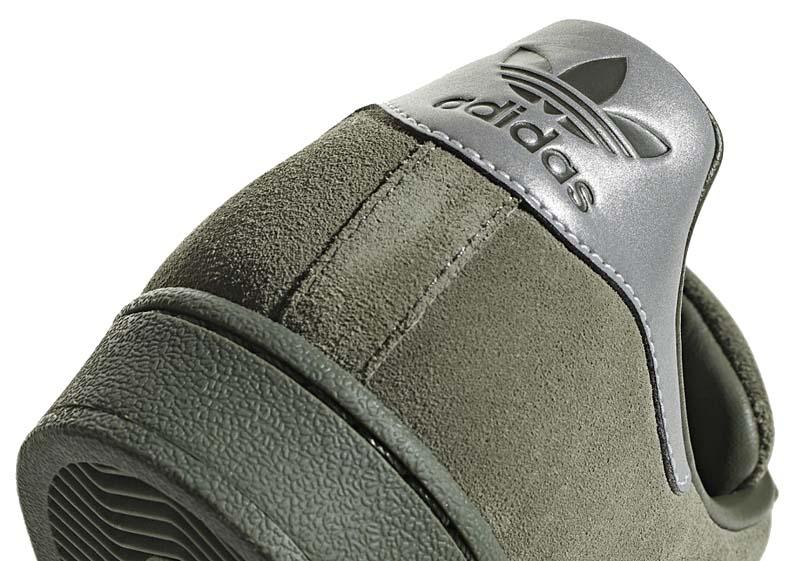 adidas SUPERSTAR [BASE GREEN / SILVER/NIGHT CARGO] b41988 アディダス スーパースター 「グリーン/シルバー」