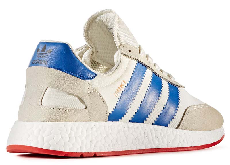 adidas Originals INIKIRUNNER I-5923 [OFF WHITE / BLUE / CORE RED] bb2093