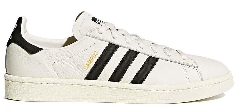 adidas Originals CAMPUS [CHALK WHITE / CORE BLACK / CREAM WHITE] cq2070