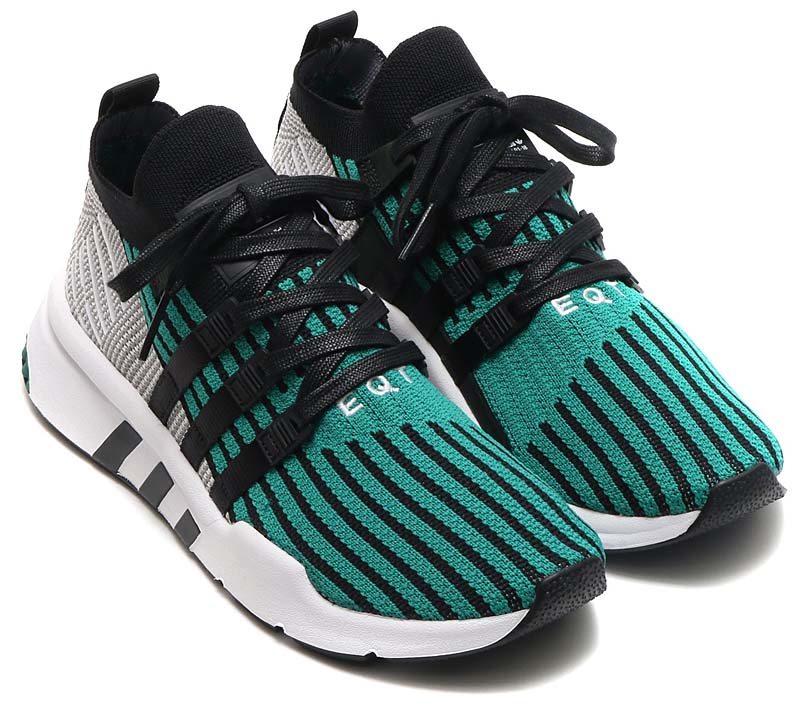adidas Originals EQT SUPPORT MID ADV PK [CORE BLACK / CORE BLACK / SUB GREEN] cq2998