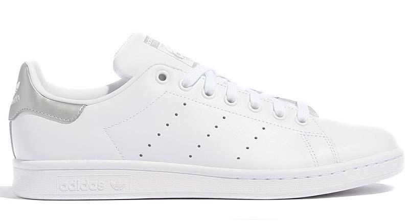 adidas Originals STAN SMITH [RUNNING WHITE / RUNNING WHITE / MATTE SILVER] f97536 アディダス オリジナルス スタンスミス 「ホワイト/マットシルバー」