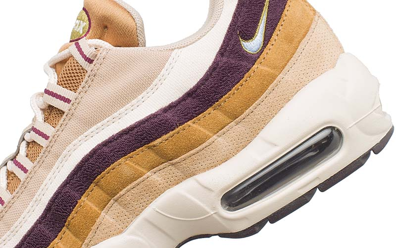 NIKE AIR MAX 95 PREMIUM [DESERT / ROYAL TINT-CAMPER GREEN] 538416-205