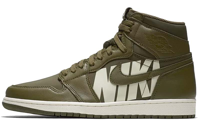 0ebd988207542b 物欲スニーカー NIKE AIR JORDAN 1 RETRO HIGH OG  OLIVE CANVAS   SAIL ...