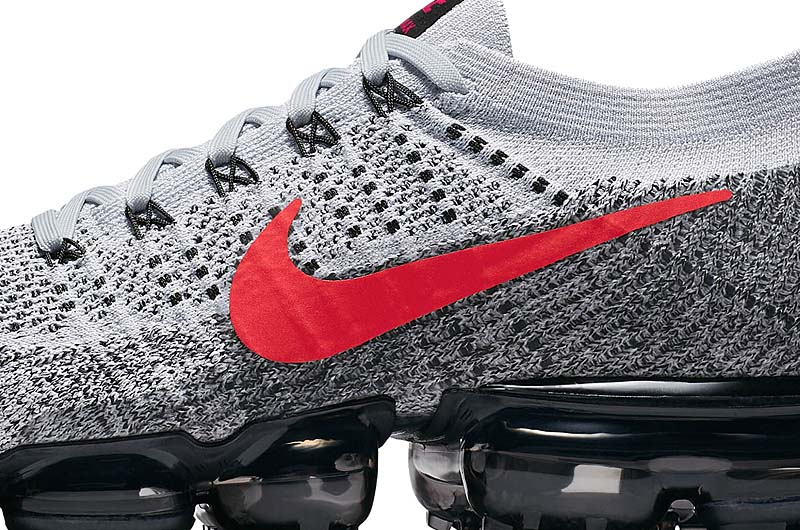 separation shoes 69484 1d706 NIKE AIR VAPORMAX FLYKNIT OG  PURE PLATINUM UNIVERSITY RED-BLACK  849558-