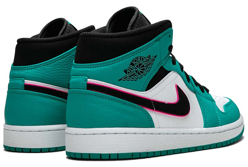 pretty nice ec207 8ca0d Clothing, Shoes   Accessories Nike Air Jordan Retro I 1 Mid SE South Beach  Turbo Green Hyper Pink 852542-306