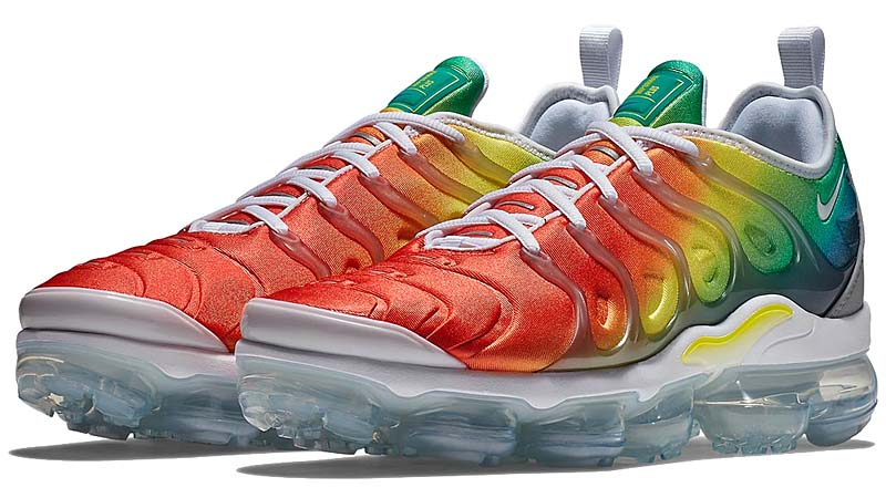 NIKE AIR VAPORMAX PLUS [WHITE/NEPTUNE GREEN/DYNAMIC YELLOW] 924453-103