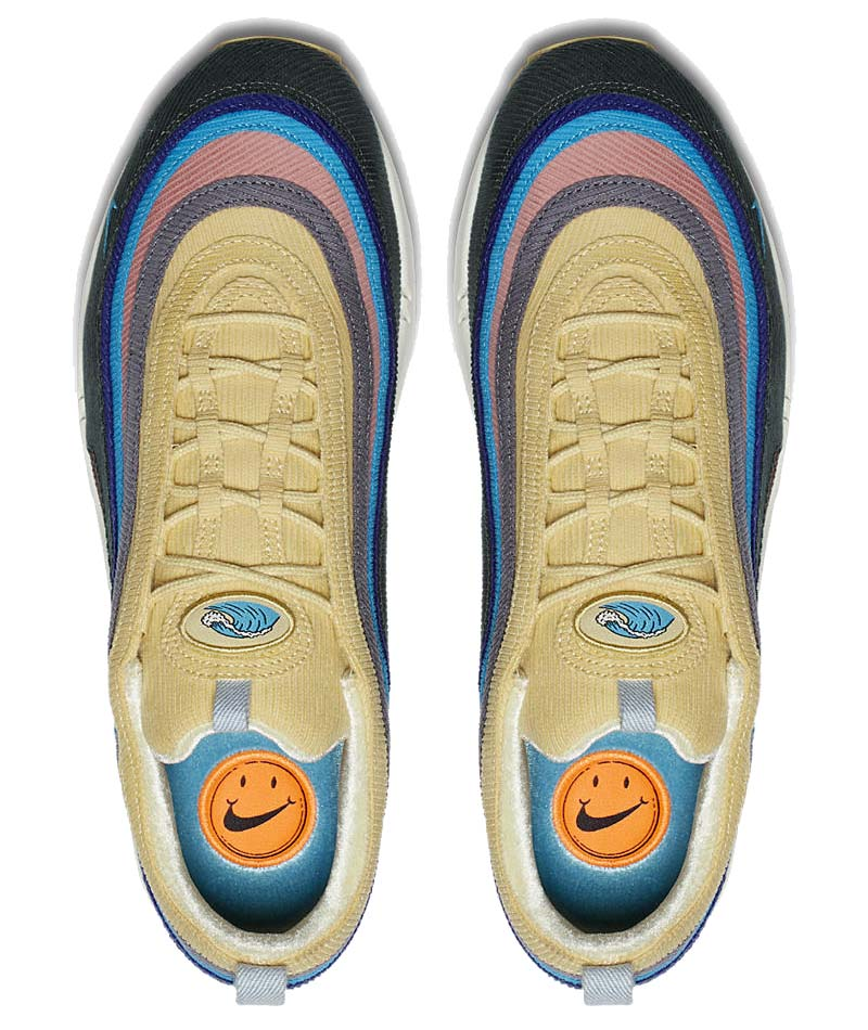 "NIKE AIR MAX 1 / 97 VF SW ""SEAN WOTHERSPOON"" [LIGHT BLUE FURY / LEMON WASH - VINTAGE GREEN] AJ4219-400"