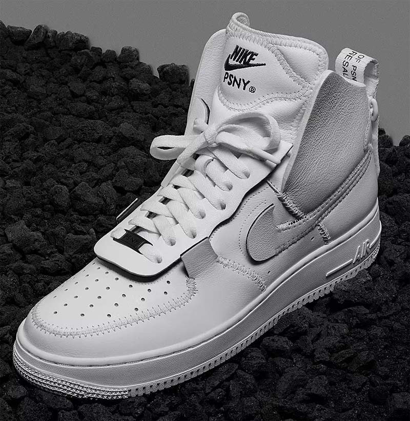 PSNY x NIKE AIR FORCE 1 HIGH [WHITE / WHITE-BLACK-WHITE] AO9292-101
