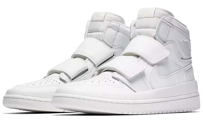 NIKE AIR JORDAN 1 RETRO HI DOUBLE STRP [SUMMIT WHITE/LIGHT CREAM] AQ7924-100