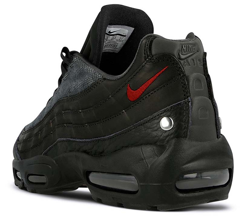 NIKE AIR MAX 95 NRG LAYERED LOOK [BLACK / TEAM RED-ANTHRACITE] AT6146-001