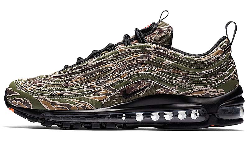 "NIKE AIR MAX 97 PREMIUM SE ""USA CAMO"" [MEDIUM OLIVE / BLACK / DESERT SAND] aj2614-205"