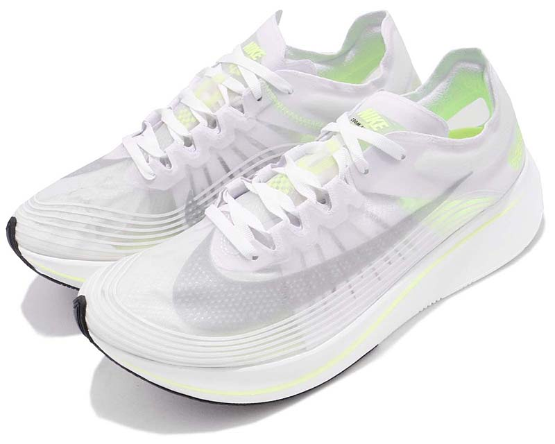 NIKE ZOOM FLY SP [WHITE / VOLT GLOW / SUMMIT WHITE] aj9282-107