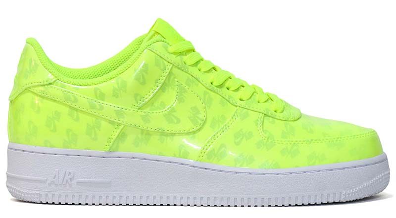 NIKE AIR FORCE 1 07 LV8 UV [VOLT / VOLT-WHITE-WHITE] aj9505-700