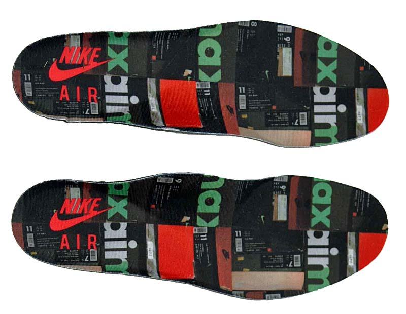 "NIKE x atmos AIR MAX 95 PRNT ""WE LOVE NIKE"" [BLACK / SAFETY ORANGE-MEDIUM ASH-DARK ASH] aq0925-002"