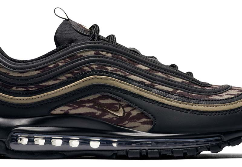 NIKE AIR MAX 97 AOP [BLACK / KHAKI-VELVET BROWN] aq4132-001
