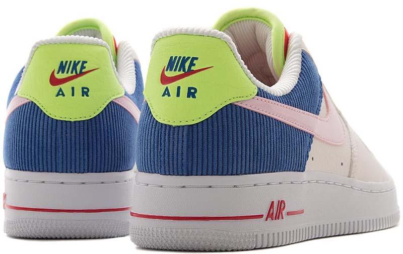 NIKE AIR FORCE 1 LO [SAIL / ARCTIC PINK-RACER BLUE] aq4139-101