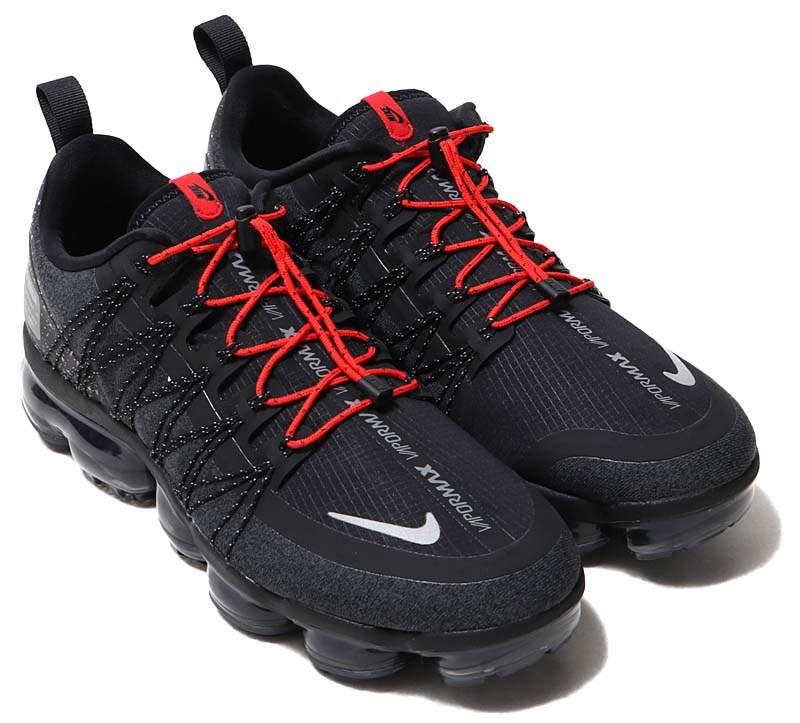 NIKE AIR VAPORMAX RUN UTILITY [BLACK / REFLECT SILVER-ANTHRACITE] aq8810-001