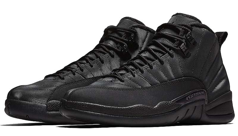 NIKE AIR JORDAN 12 RETRO WINTERIZED [BLACK / BLACK / ANTHRACITE] bq6851-001