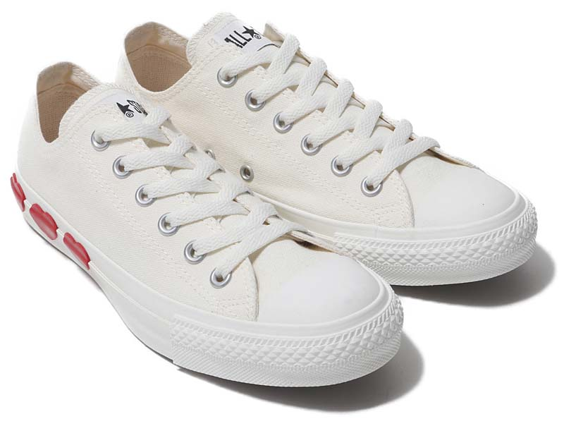 CONVERSE ALL STAR THREEHEARTS OX [WHITE] 31300571