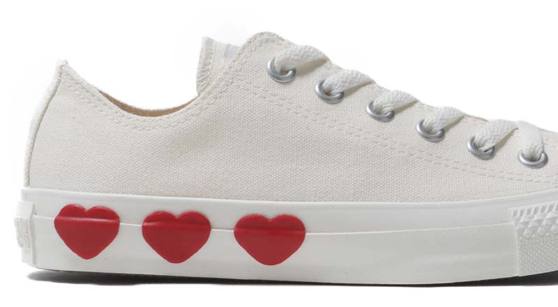 CONVERSE ALL STAR THREEHEARTS OX WHITE 31300571