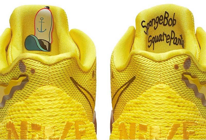 """NIKE KYRIE 5 SBSP EP """"SpongeBob"""" OPTI YELLOW / OPTI YELLOW CJ6950-700 ナイキ カイリー 5 SBSP EP スポンジボブ イエロー"""